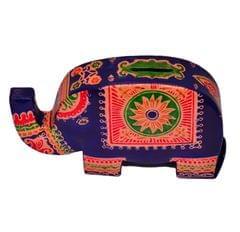 Purpledip Piggy Bank Purse Shaped as an Elephant (10597)