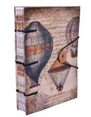 "Purpledip Vintage Journal ""Exploring The World"" (10617)"