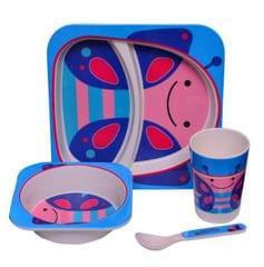Purpledip Kids 5 pieces Dinner Set (10627)