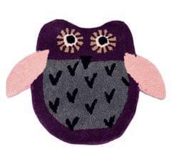 Door Mat Owl Shape: Thick, Soft, Non-skid Floor Carpet Rug 10748