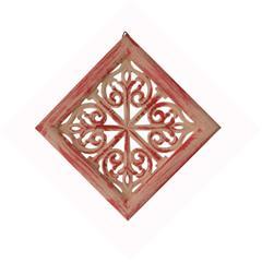 Purpledip Artistic Wooden Wall Panel 'Floral Art' (10934)