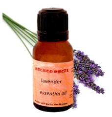 Sacred Spell Lavender Oil (15 Ml): 100% Natural Steamed Distilled - Ideal For Headache Relief, Skin & Hair Care, Or As Mosquito Repellent