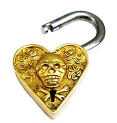 Brass Padlock: Pirate Heart (11423)