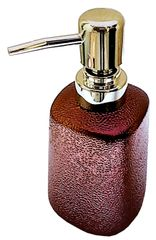 Purpledip Metal Liquid Soap Dispenser: Ideal for Bathroom or Kitchen (11716)