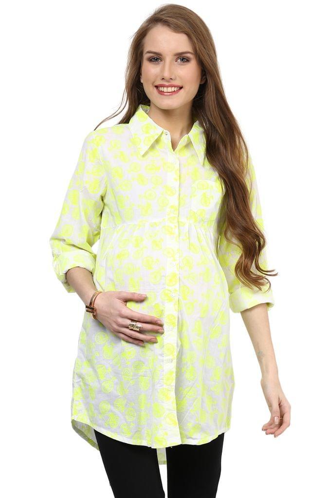 Maternity Tunic Neon Cycles