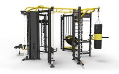 I-ZONE  H-Shape cross fit Cage