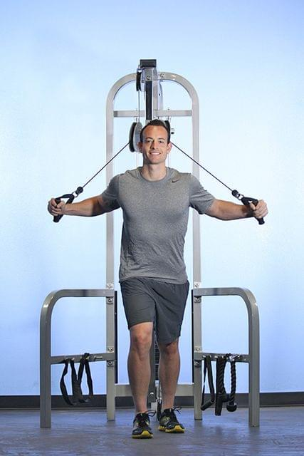 HI/LOW PULLEY COMBO MACHINE