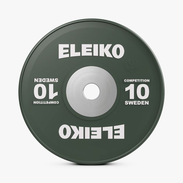 ELEIKO IWF WEIGHTLIFTING COMPETITION DISCS 10-25KG