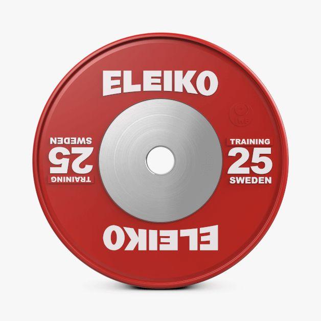ELEIKO IWF WEIGHTLIFTING TRAINING DISCS 10-25KG