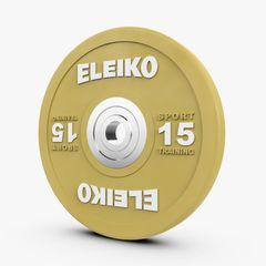 ELEIKO SPORT TRAINING DISC- COLOURED 10-25KG