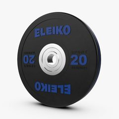 ELEIKO SPORT TRAINING DISC - BLACK 10-25KG