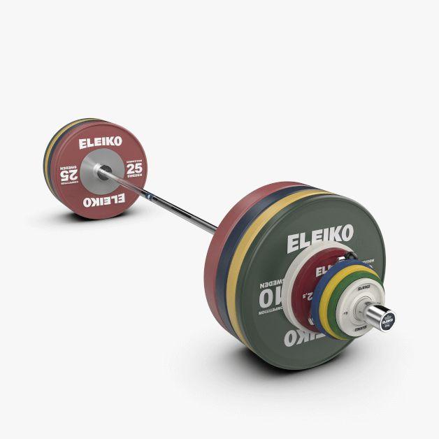IWF WEIGHTLIFTING COMPETITION SET - 190 KG, MEN, FG