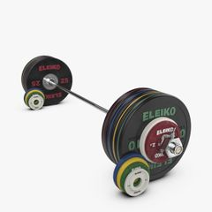 PERFORMANCE SET - 185 KG, WOMEN, BLACK