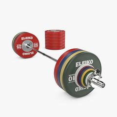 WPPO POWERLIFTING COMPETITION SET - 340,5 KG