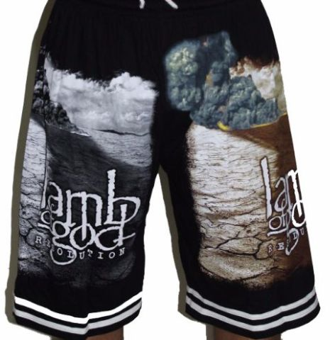 Lamb of God  Premium Shorts - Free Size (28 inches to 46 inches)