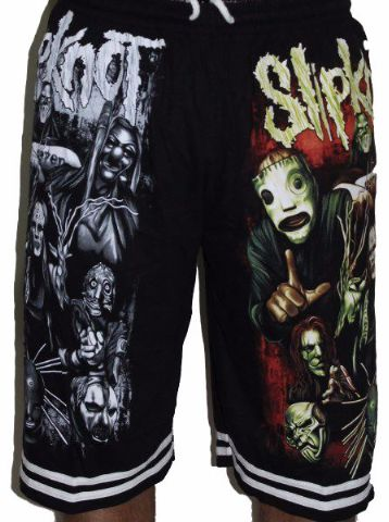 Slipknot Premium Shorts - Free Size (28 inches to 46 inches)