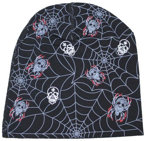 Skull Spider Beanie Cap