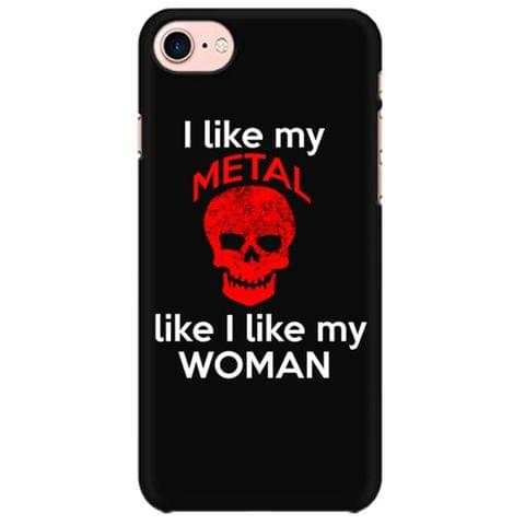 I like Metal and my Women Mobile back hard case cover - DNZXJ3ALD7RU