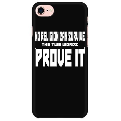 Religion cant Survive Mobile back hard case cover - YW83J7LXFPVN