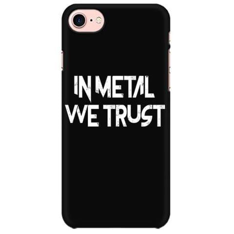 In Metal we Trust  Mobile back hard case cover - Z5ZL25VESCXVD8Y