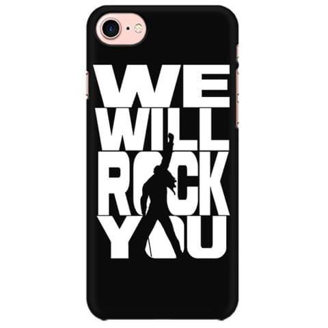 Queen - We will Rock you  Mobile back hard case cover - ZJ32ASZP83RDSFG
