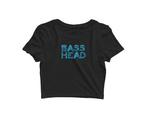 Bass Head   Croptop for music lovers