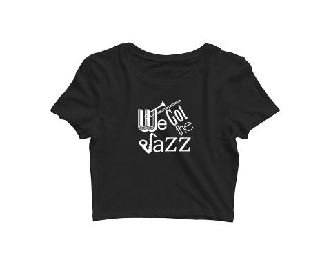 We got the Jazz   Croptop for music lovers