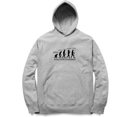 Evolution of Bassist   Unisex Hoodie Sweatshirt for Men and Women