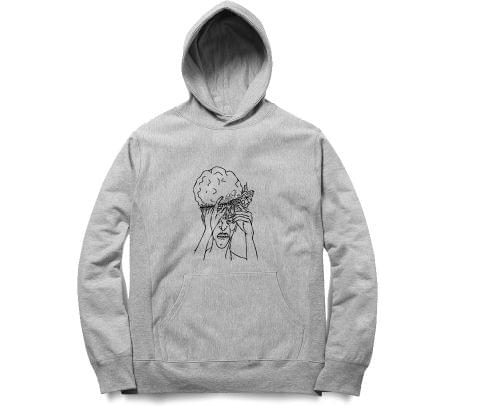 Mind fucked Hard psy Trippy Psychedelic   Unisex Hoodie Sweatshirt for Men and Women