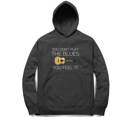 Feel the Blues   Unisex Hoodie Sweatshirt for Men and Women