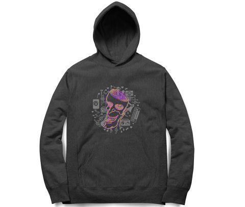 A happy Trip ver 2 Trippy Art   Unisex Hoodie Sweatshirt for Men and Women