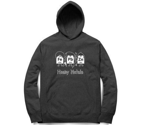 Love for Heavy Metal   Chemistry  Unisex Hoodie Sweatshirt for Men and Women