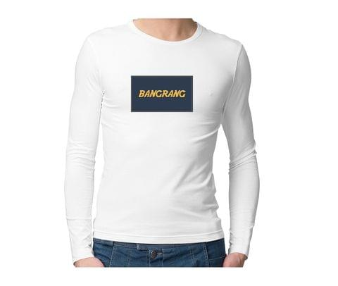 Bangrang  Unisex Full Sleeves Tshirt for men women