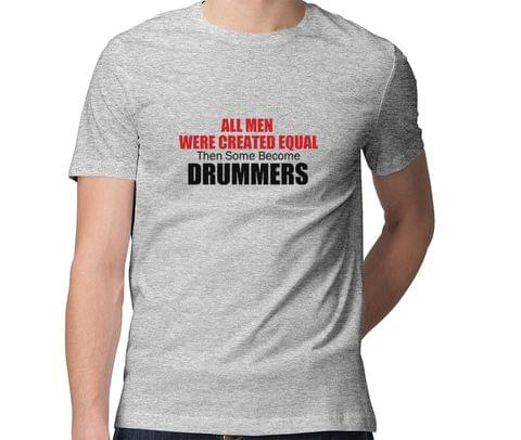 Drummers are not Normal  Men Round Neck Tshirt