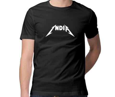 India Metallica  Men Round Neck Tshirt