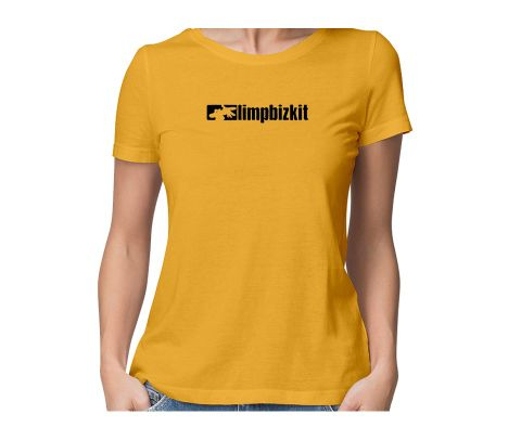 Limp Bizkit  round neck half sleeve tshirt for women