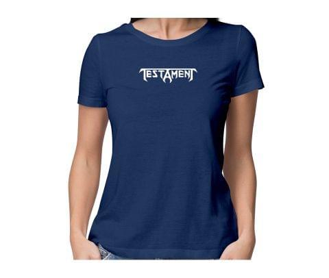 Testament  round neck half sleeve tshirt for women