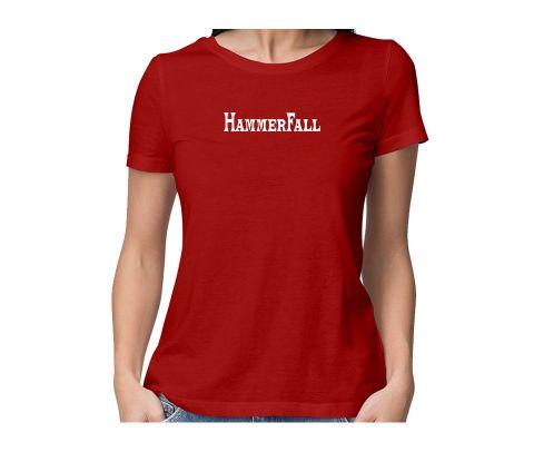 HammerFall  round neck half sleeve tshirt for women