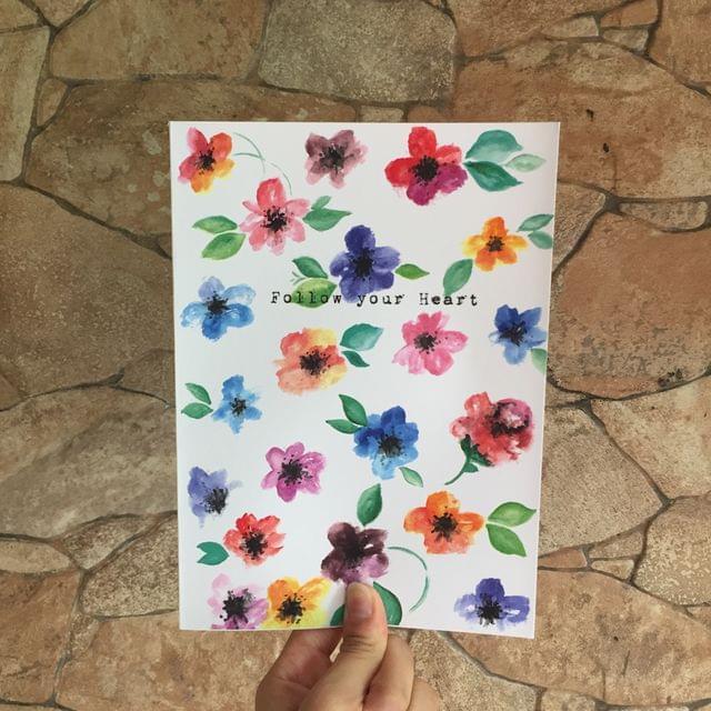 Fleur: Follow your heart Notebook