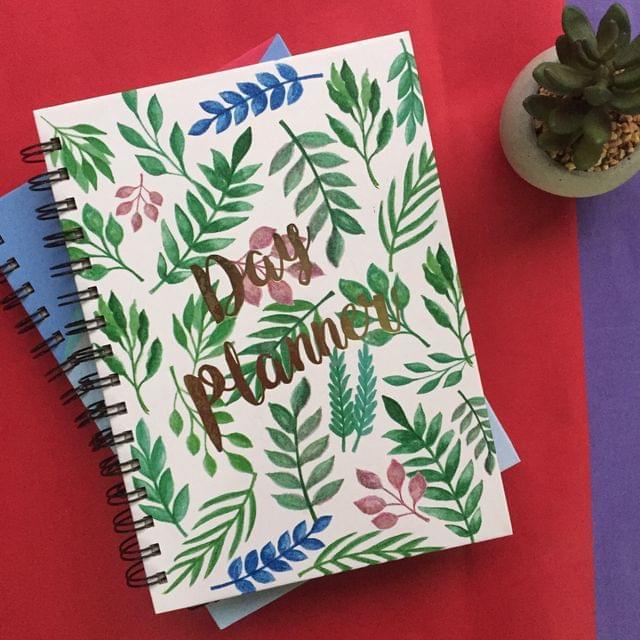 Leafy Affair Day Planner
