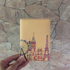 London-Paris-New York Skyline-Brown