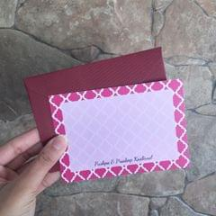 Moroccan Notecard set