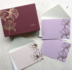 Magnolia Notecard Set