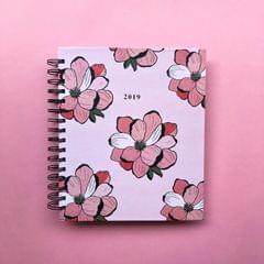 2019 Planner: Floral Bloom