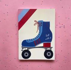 Notebook-Roller Skates