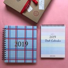 Planner & Calendar Hamper (Double Checkmate)