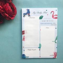 My Daily Plan Notepad-Endless Utopia