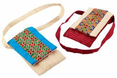 Embroidered Handcrafted Silk Mobile Case(Money)-VIVEKA