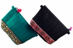 Embroidered Handcrafted Utility Pouch-Big-VIVEKA