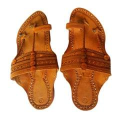 Men Kolhapuri Kapshi Brown Sandal